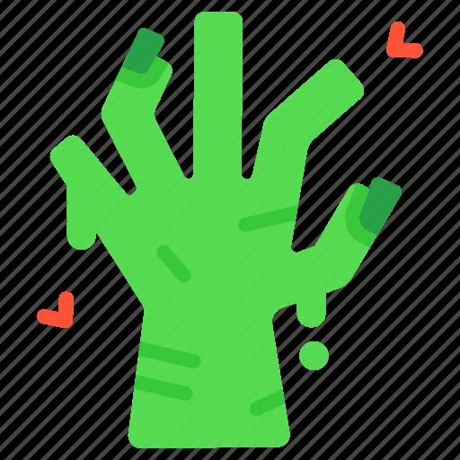 dead, halloween, hand, horror, scary, spooky, zombie icon