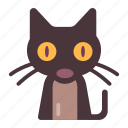 animal, cat, halloween, mysterious, superstition, witchcraft icon