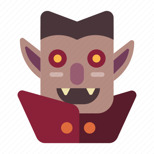 Dracula, evil, gothic, halloween, horror, spooky, vampire icon - Download on Iconfinder
