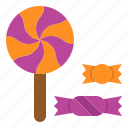 candy, halloween, sweet, treat icon