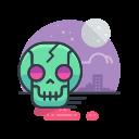 scary, skeleton, skull, spooky, halloween, zombie