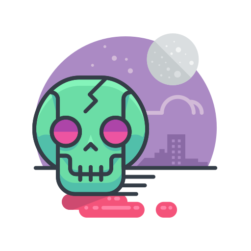 halloween, scary, skeleton, skull, spooky, zombie icon
