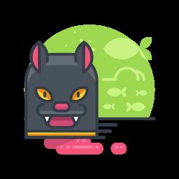animal, cat, halloween, pet, scary, spooky icon