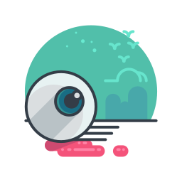 eyeball, halloween, holiday, scary, spooky icon