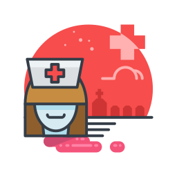 costume, halloween, holiday, nurse, scary, spooky icon