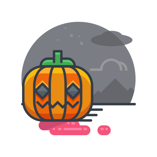 decoration, halloween, holiday, pumpkin, scary, spooky icon