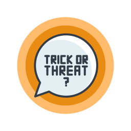 halloween, holiday, or, scary, spooky, treat, trick icon