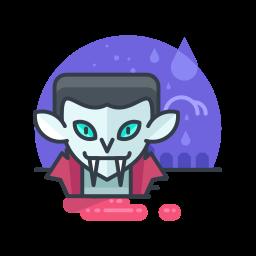 costume, halloween, monster, scary, spooky, vampire icon