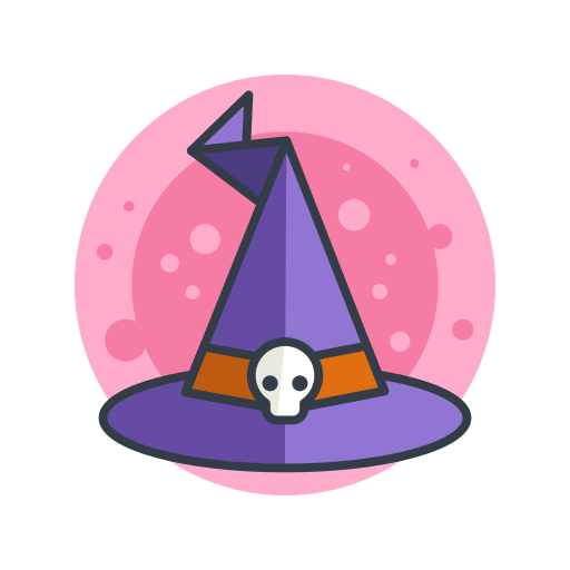 costume, halloween, hat, magic, scary, spooky, witch icon