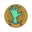 halloween, monster, rising, scary, spooky, zombie icon