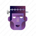 fantasy, frankenstein, halloween, monster, scary, undead icon