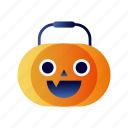 celebration, halloween, jack-o-lantern, pumpkin, seasonal, spooky icon