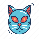 animal, cat, halloween, kitten, kitty, meow, pussy icon
