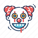 clown, devil, evil, halloween, it, monster, pennywise icon