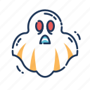 ghost, halloween, horror, scary, soul, spirit, spooky icon