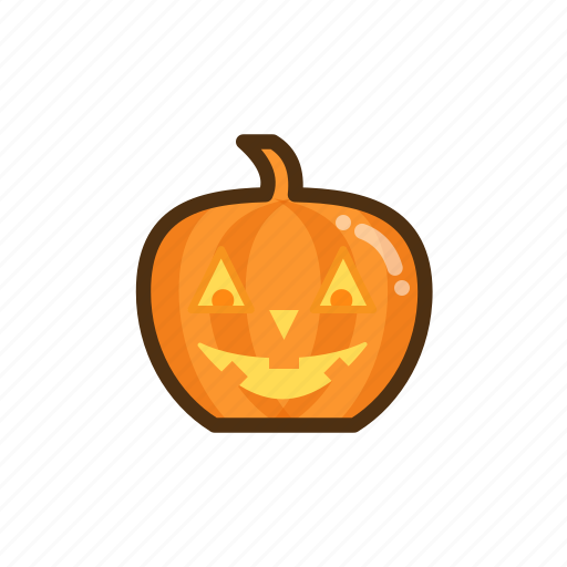 halloween, pumpkin, scary icon