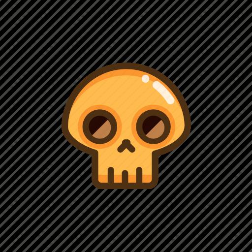 death, fun, halloween, scary, skull icon