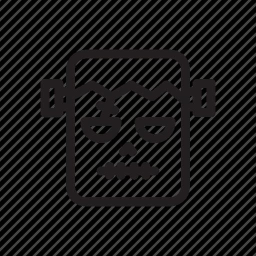 design, frankenstein, ghost, halloween, head, horror, movie icon