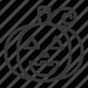 character, halloween, horror, jack-o'-lantern, scary, spooky icon