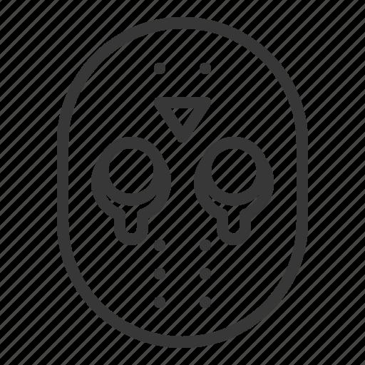 halloween, horror, jason mask, mask, monster, scary, spooky icon