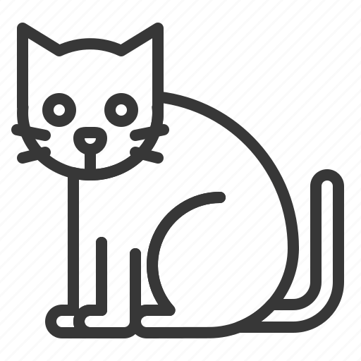 Animal, cat, halloween, horror, mammal, scary, spooky icon - Download on Iconfinder