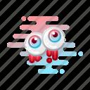 creepy, eyeball, halloween, horror, organ, spooky icon