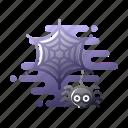 arachnid, creepy, fear, halloween, scary, spider, spooky icon