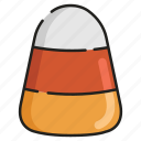 candy, celebration, childhood, corn, halloween, sweet, trick or treat icon