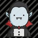 dracula, evil, gothic, halloween, horror, spooky, vampire icon