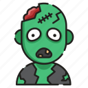 creepy, dead, halloween, horror, scary, spooky, zombie icon
