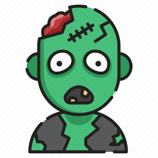 creepy, dead, halloween, horror, scary, spooky, zombie icon
