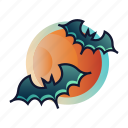 bat, halloween, night, nocturnal, scary, spooky, vampire icon