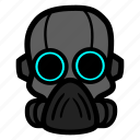 cyborg, halloween, soldier icon