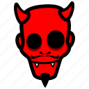 devil, halloween, satan icon