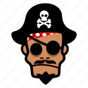 halloween, pirate, sailor icon