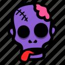 zombie, corpse, halloween