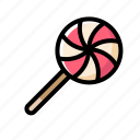 candy, halloween, sweet, trick or treat, wing icon