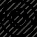 eye ball, eyeball, eyeball icon, halloween, halloween icon, outline icon