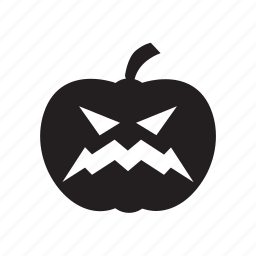 halloween, horror, october, orange, pumpkin icon