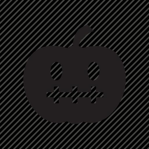 halloween, horror, october, orange, pumpkin icon