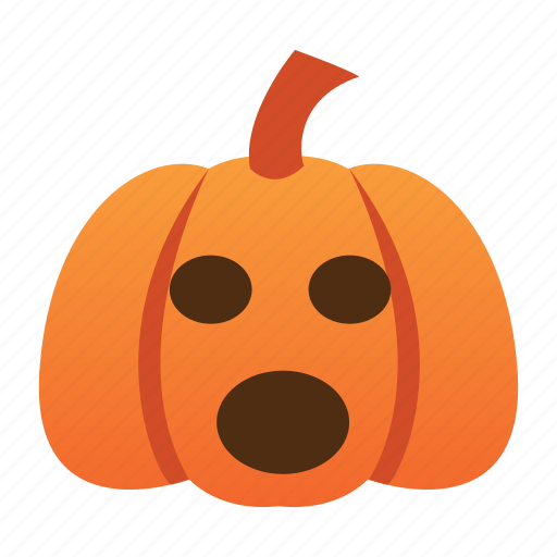 halloween, jack o lantern, orange, pumpkin, scary, spooky icon