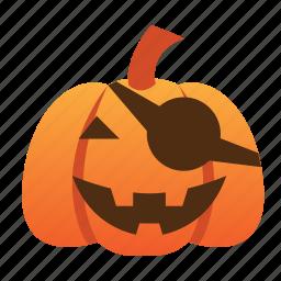 halloween, jack o lantern, orange, pumpkin, scary, spooky icon
