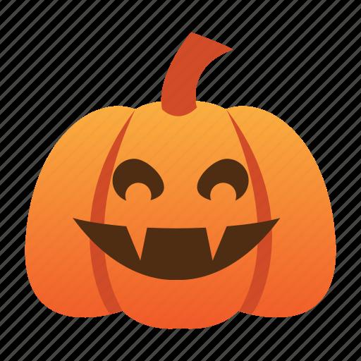 halloween, jack o lantern, orange, pumpkin, scary, spooky, vampire icon