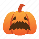 scary, spooky, scared, halloween, orange, jack o lantern, pumpkin
