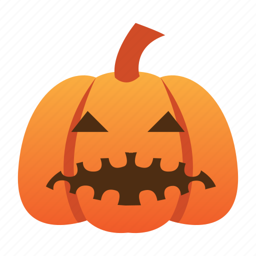 evil, halloween, jack o lantern, orange, pumpkin, scary, spooky icon