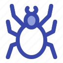 death, evil, halloween, insect, scary, spider, spiderweb icon