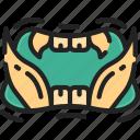 beast, evil, halloween, monster, mouth, teeth