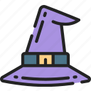 accessory, evil, halloween, hat, witch, witches icon