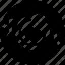 eye ball, eyeball, eyeball icon, halloween, halloween icon, solid icon