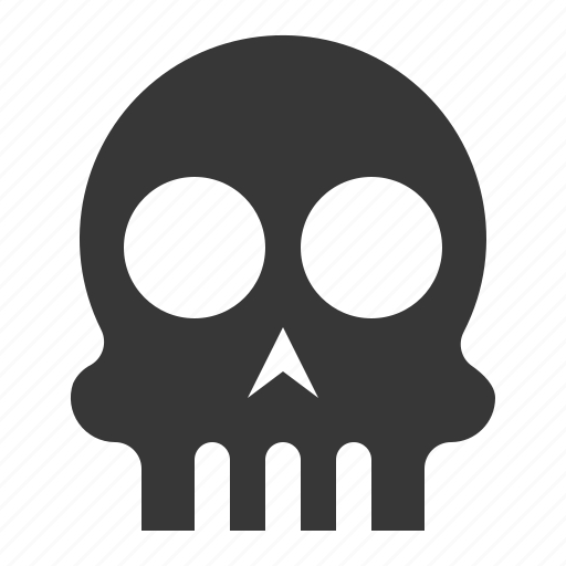 bone, halloween, horror, scary, skull, spooky icon